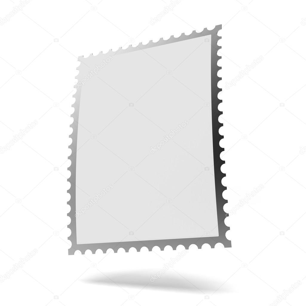Blank Stamp Template Stock Photo Ekostsov 20564963