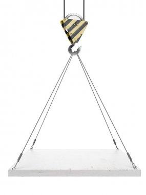 Crane hook with empty board