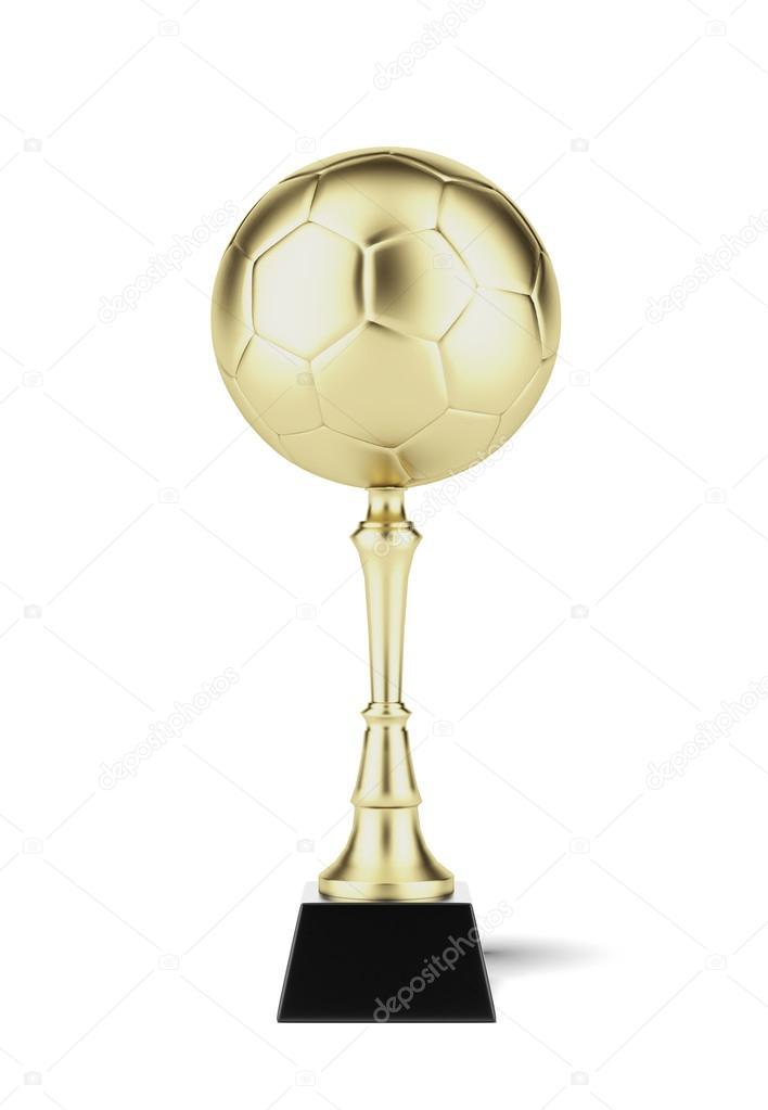 Футбольный мяч на Золотой Кубок — Стоковое фото © ekostsov  30521869 c211504b7acfd