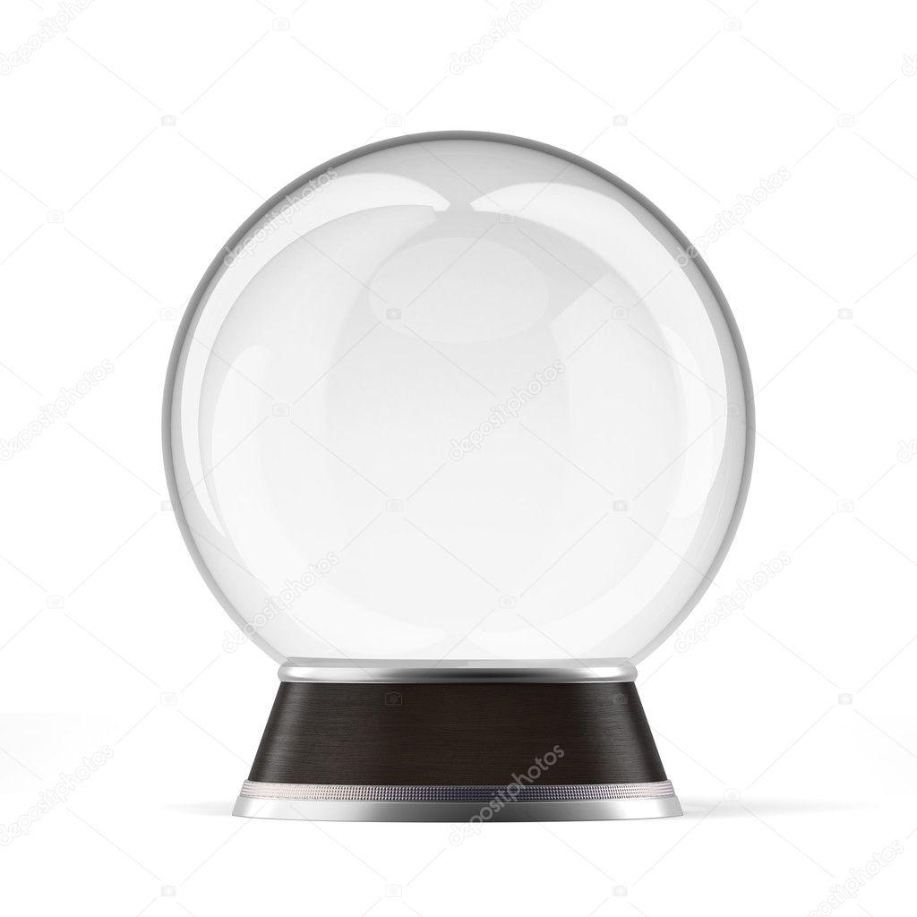 globo de neve vazio fotografias de stock ekostsov 35616973. Black Bedroom Furniture Sets. Home Design Ideas