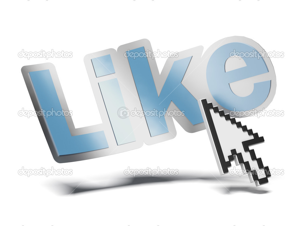 Mouse cursor and like symbol stock photo ekostsov 37294781 mouse cursor and like symbol stock photo buycottarizona Choice Image