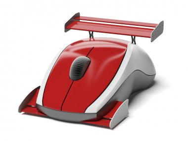 High speed computer mouse