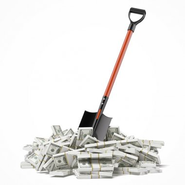 Shovel up dollars