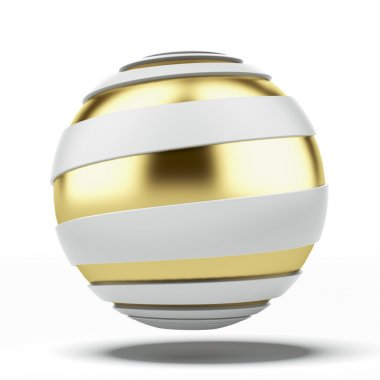 Abstract ball with spiral shape