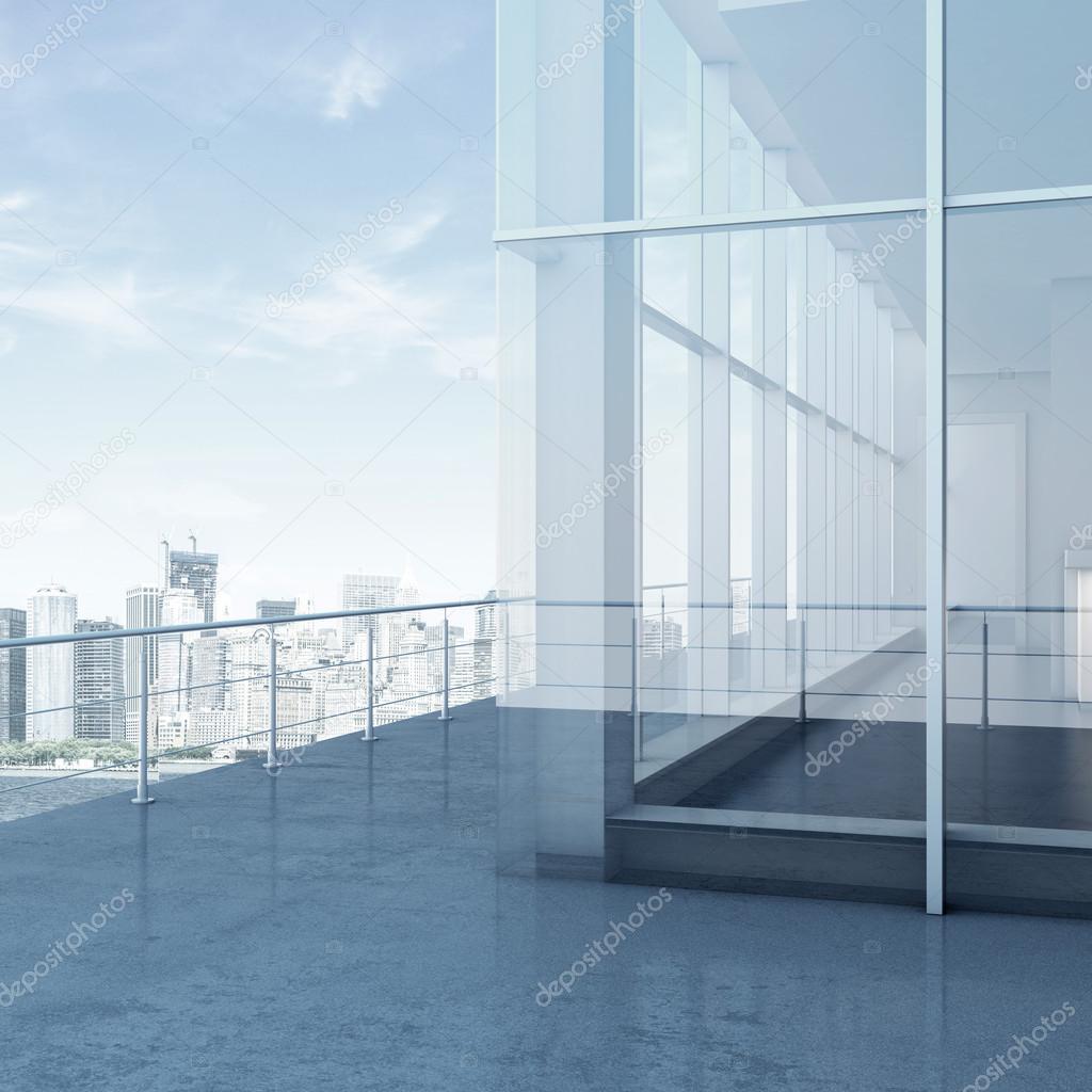 balcony skyscraper