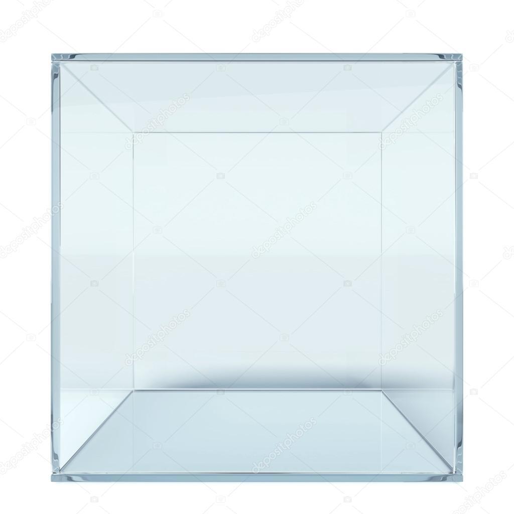 cube de verre vide photographie ekostsov 51751683. Black Bedroom Furniture Sets. Home Design Ideas