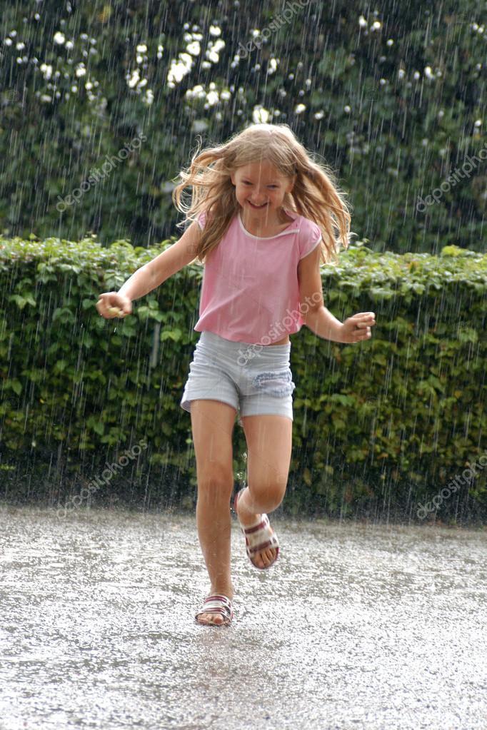 Girl in the Heavy Rain