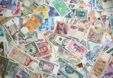 Exotic Banknotes Texture