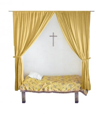 Isolated Bed Nun