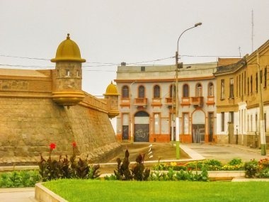 The Real Felipe Fortress in Lima Peru