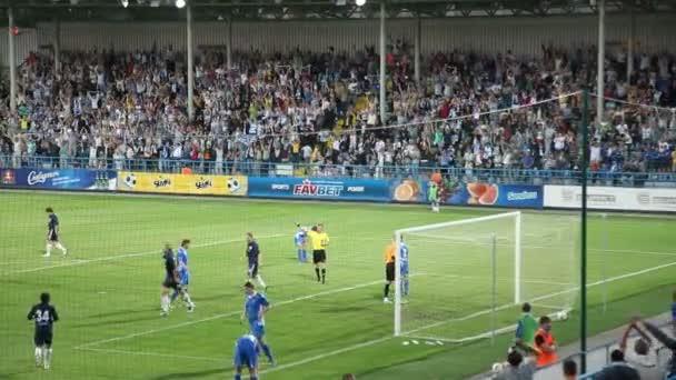 labdarúgó-mérkőzés. cél