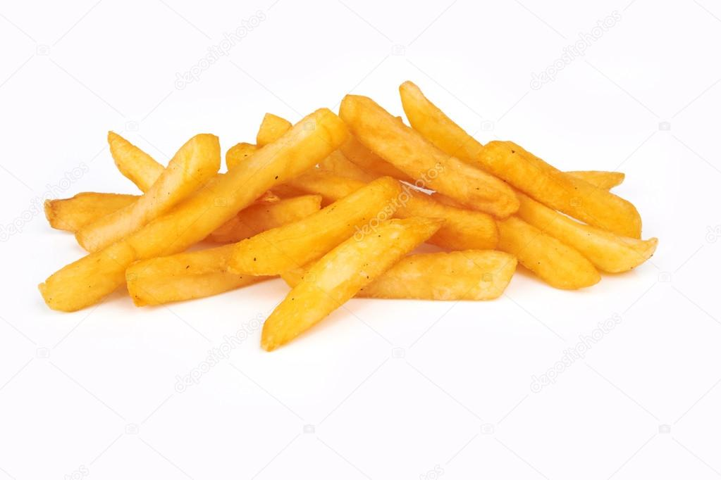pile of french fries