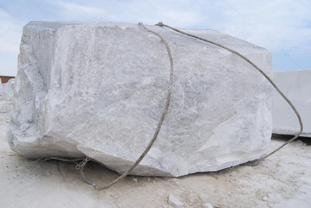 Big block of a marble
