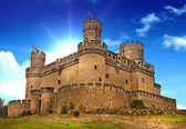castello medievale manzanares - Spagna