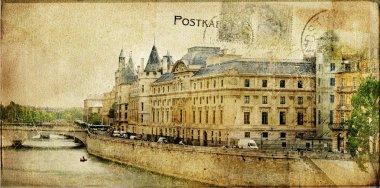 Vintage Parisian cards series