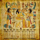 starý egyptský papyrus