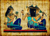starověké egyptské pergamen