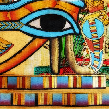Egyptian style abstraction