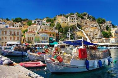Beautiful Greek islands series - Symi