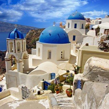 Beautiful Greek islands series - Santorini