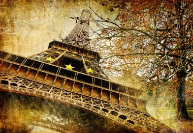 Autumn in Paris - artistic picture