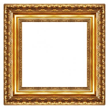 Classy gilded frame -square shape