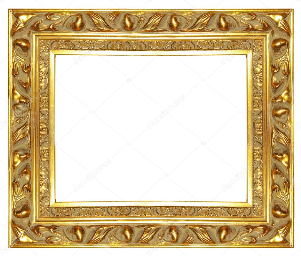 Carved antique gilded frame stock photo maugli 12820696 carved antique gilded frame photo by maugli jeuxipadfo Images