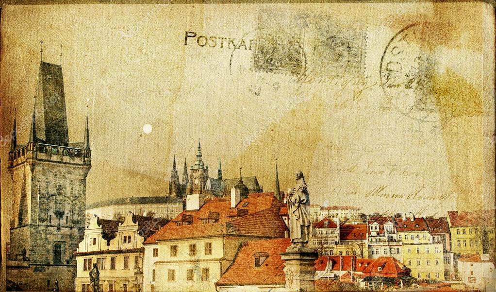 Словом, ретро города открытки