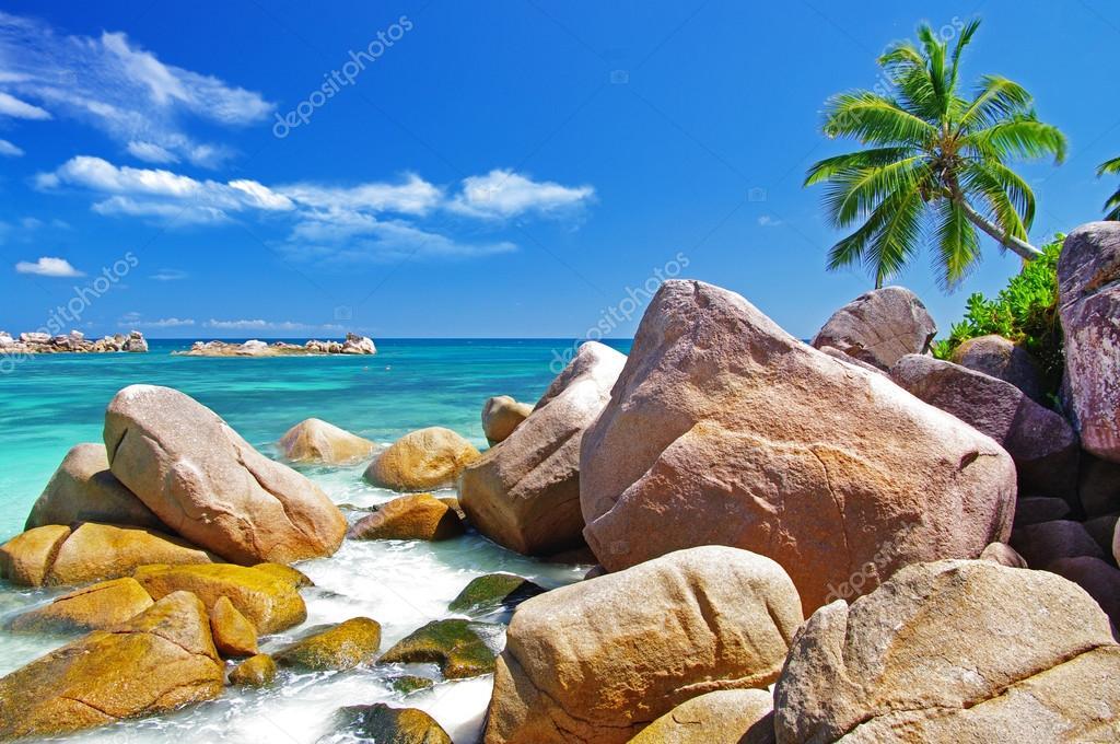 Beautiful Seychelles islands
