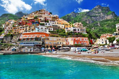 Positano. colors of sunny Italy series