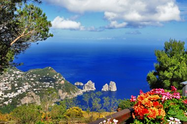 Capri island. Italy