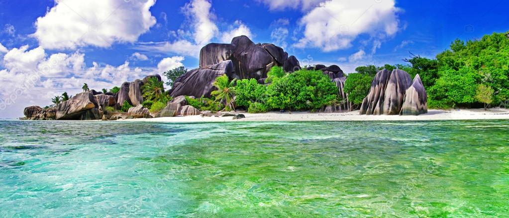Seychelles incroyable le de la digue photographie for Garage de la digue