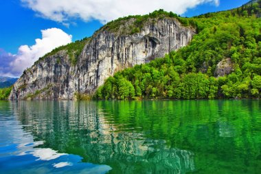 Beautiful landscapes of Austrian lakes - st.Wolfgang