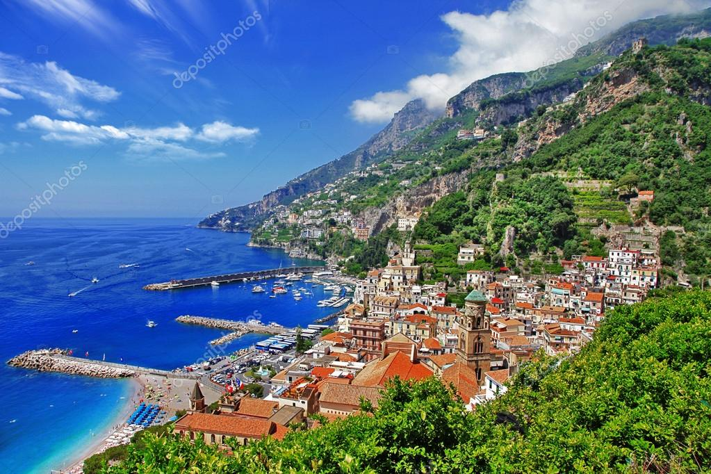 beautiful Amalfi coast, Italy