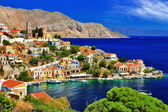 Photo wonderful Greece. Symi island , Dodecanese