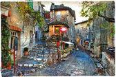 Fotografie okouzlující vesnice Francie provincií