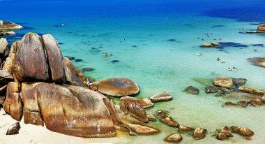 Crystal Bay tropical beach in Koh Samui,Thailand