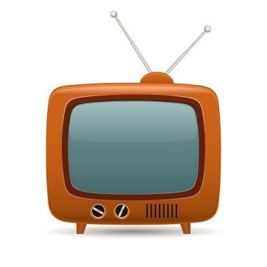 Retro tv. Vector illustration