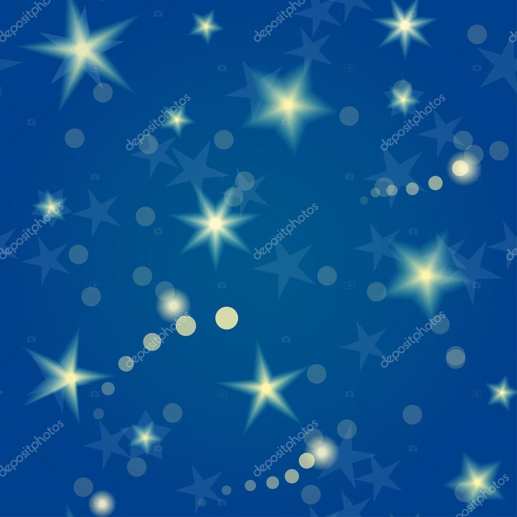 Stars seamless pattern