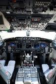 Cockpit einer 737-800