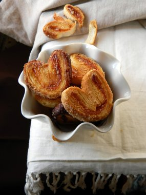Palmera (Palmier); sweet puff pastry