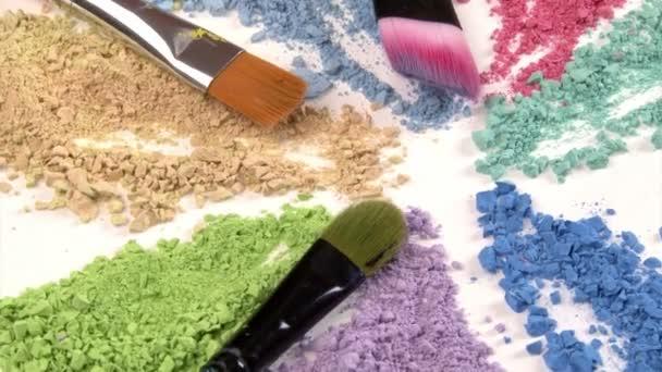 Paintbrush. Art studio shot. Closeup