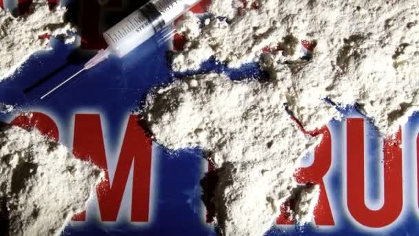 Save from drugs, world map