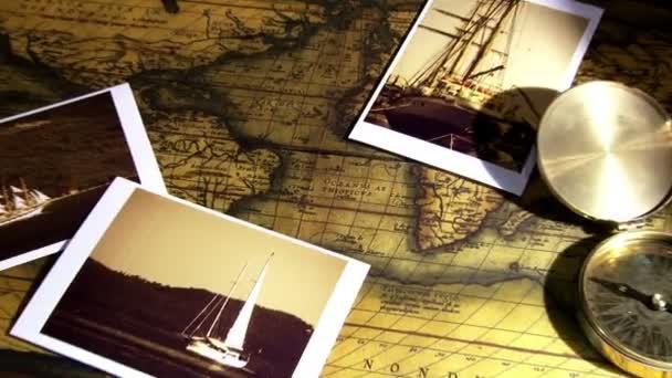 Golden compass, photos and maps
