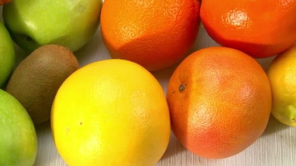 Fresh Fruits, camera dolly,