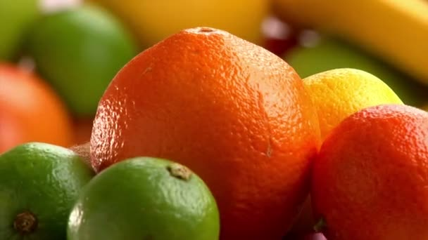 Fruits, citrus, rotate