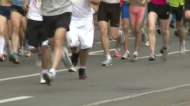 Marathon, in motion