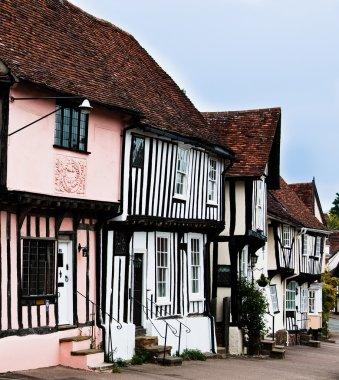 Timber cottage of Lavenham, England, Suffolk, UK