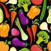Jídlo bezešvé pozadí vektorové ilustrace