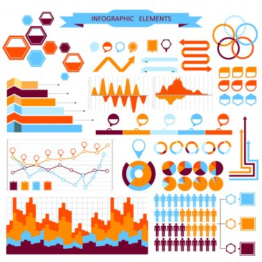 Vector info-graphic elements set